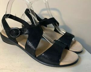 Hotter-Ladies-Sandals-6-STD-Flame-Open-Toe-Flat-Summer-Leather-Holiday-New