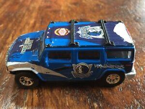 Diecast Car Dallas Mavericks 1/43 Scale Hummer H2 2004 Fleer NBA Car Truck