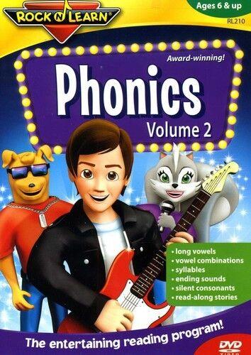 Rock 'N Learn: Phonics, Vol. 2 (2011, REGION 1 DVD New)