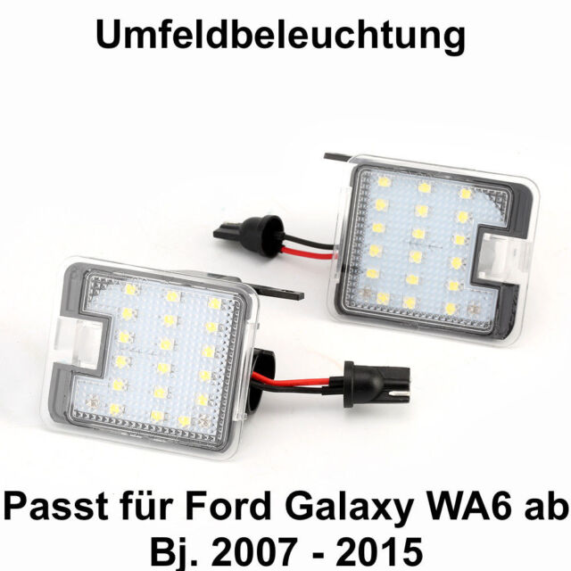 7908 2x Top Led SMD Courtesy Lights 6000k White Ford S-MAX Wa6