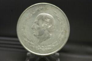 1952-Mexico-Cinco-5-Pesos-Hidalgo-Silver-Coin-27-7-9-Grams-0-720-BU-AU