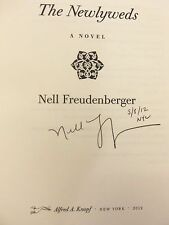 """Newlyweds by Nell Freudenberger """"Signed, Dated & NYC"""" 2012 HB 1ST/1ST Brand New!"""