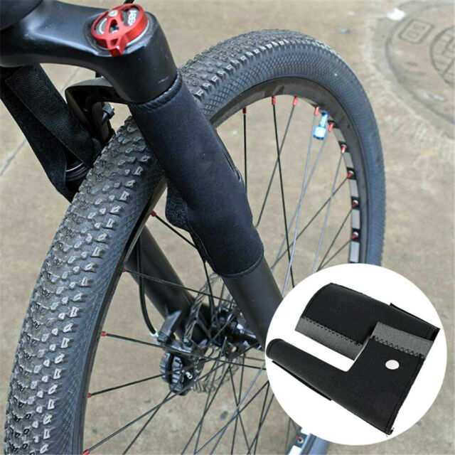 1 Pair Road Bike Fork Frame Mountain Bike Front Fork Protector Guard Wrap Cover
