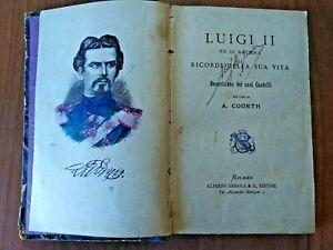 A-Courth-LUIGI-II-RE-DI-BAVIERA-1886-E-Geruzez-BREVE-CORSO-MITOLOGICO-1862