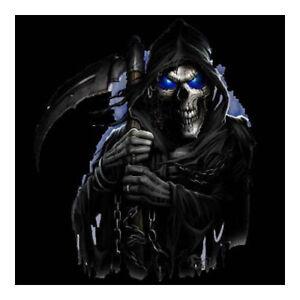 Halloween Poster Art.Details About The Grim Reaper Skull Skeleton Gothic Halloween Art 16x20 Poster Print