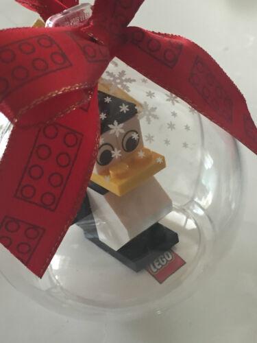*BRAND NEW* Lego Minifig PENGUIN Hanging CHRISTMAS Ornament YELLOW BEAK