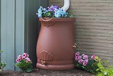 New Good Ideas Inc Rain Wizard Urn Rain Barrel 50 Gal Terra Cotta Made in USA!