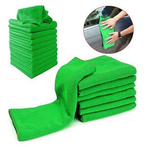 5/10x Soft auto microfibre lavage chiffon nettoyage serviette sèche cheveux
