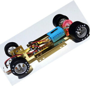 H&R Racing HRCH03 Adjustable 1/24 RTR Chassis RUBBER tires Slot Car