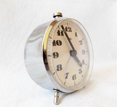 Cute Tiny Vintage 1970s Alarm clock PRIM Czechoslovakia ...