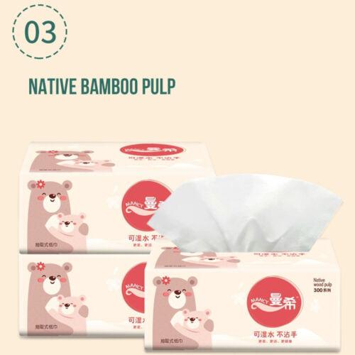 Premium Paper Bathroom Tissue Bulk Soft Paper 5//10 Packs 3Ply 300Sheets
