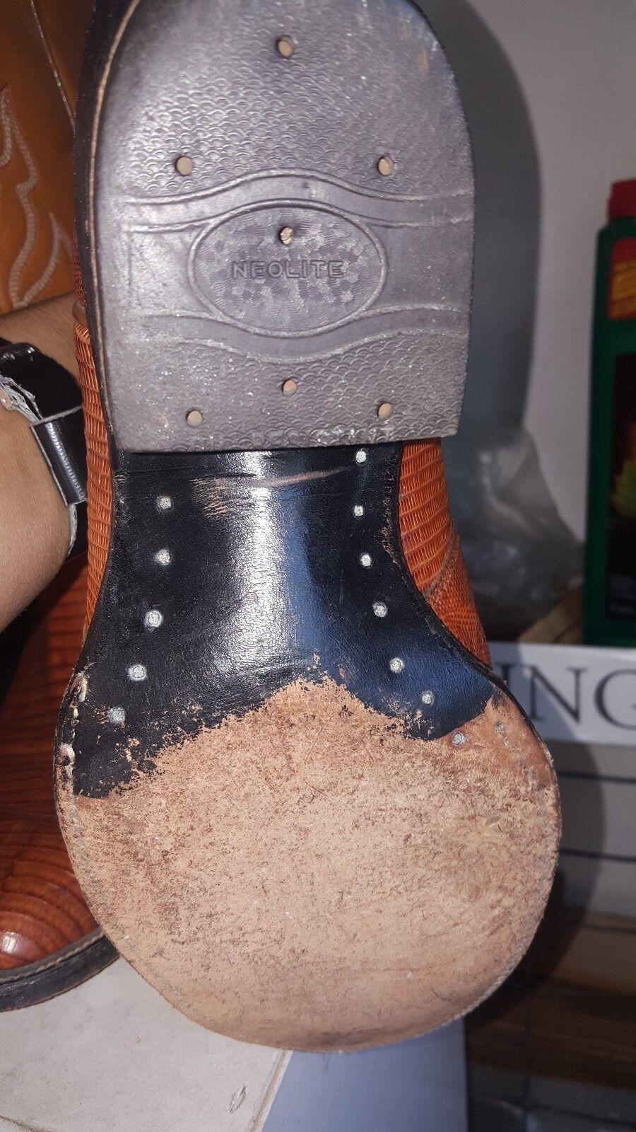 men cowboy boots  size 10.5