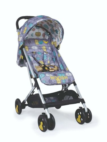 Brand new Cosatto woosh stroller Teal dawn chorus with raincover birth to 25kg
