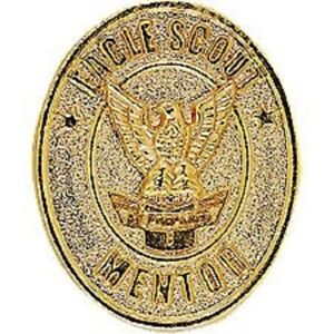 BOY-SCOUTS-OF-AMERICA-EAGLE-SCOUT-MENTOR-GOLD-PIN-BSA-ANTIQUE-ZINC-ALLOY-OA-CAMP
