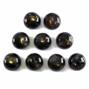 Natural African Black sunstone Gemstone Loose Sunstone Cabochon Sunstone Jewelry Making Gemstone Black Sunstone Cabochon