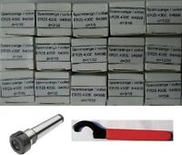 Mt2 Er25 Chuck+15 Pcs Er25 Collets+spanner H -
