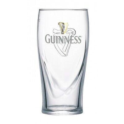 Guinness Pint Glass - Official 20oz Guinness Pint Glasses - Various Pack Sizes