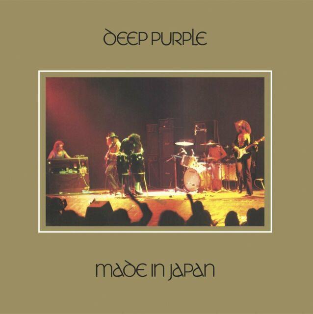 Deep Purple Realizzati Giappone 180g 2LP Vinile + Download 2014 Back To Black