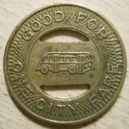 ND320E Grand Fork Transportation Company North Dakota transit token