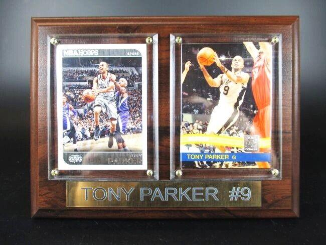 Tony Parker San Antonio Spurs Wood Wall Picture 20 cm, Plaque NBA Basketball