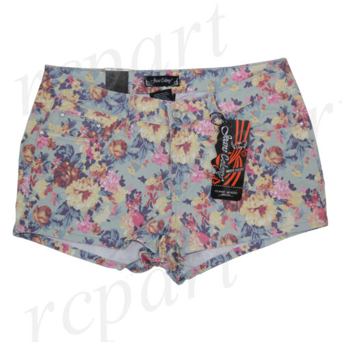 New Jeans Colony Women/'s Casual Jeans Shorts Summer Casual Floral 14 16 18 20 22
