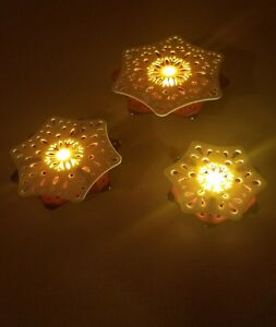 Image Is Loading Ikea 3 Set Led Indoor Snowflake Lighting Decoration