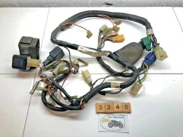 Yamaha Xt225 Wire Loom Harness on
