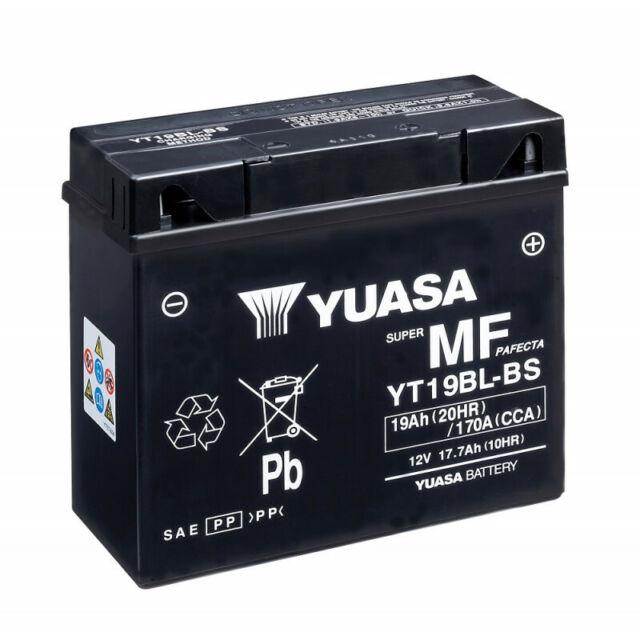 Batterie moto YUASA YT19BL-BS 51913 12V 19AH 170A