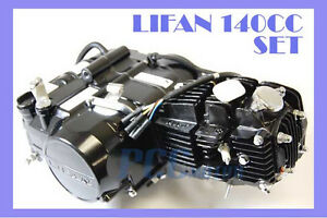 Details about LIFAN 140CC ENGINE MOTOR 4 UP + OIL COOLER DIRT BIKE 107  125CC M EN22-COMBO