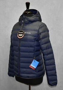 C5 NWT COLUMBIA Heat Seal Lake 22 TM 650 Fill Down Navy ...