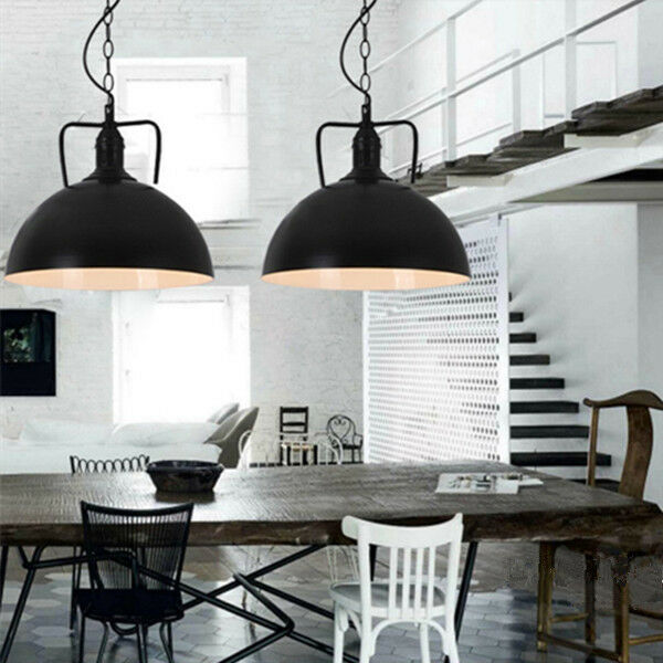Vintage Pendant Light Black Chandelier Lighting Kitchen Island Ceiling Lights For Online Ebay