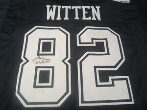 82c75f6d155 Jason Witten Signed Dallas Cowboys Jersey / 10× Pro Bowl Tight End ...