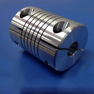 Aluminium alloy d20 l25 shaft coupler flexible coupling for Add a motor d20