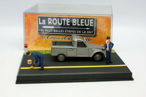 Citroen 2CV Pick Up UH La Route Bleue 1//43