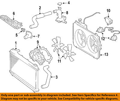 TOYOTA OEM 04-06 Sienna Cooling System-Water Outlet 163040A020 | eBayeBay