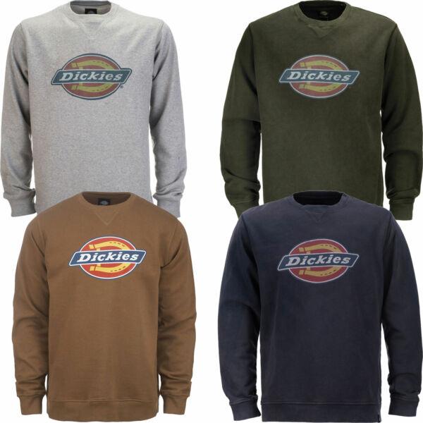 100% Verdadero Dickies Hs | Harrison Sudadera Caballeros-jersey Baumwollshirt Camisa Sweater-r Baumwollshirt Shirt Sweaterver