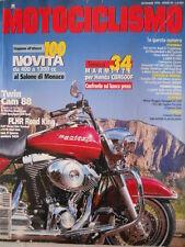 MOTOCICLISMO n°9 1998  Harley Davidson FXDX Dyna Super - Motori Ducati [P32]