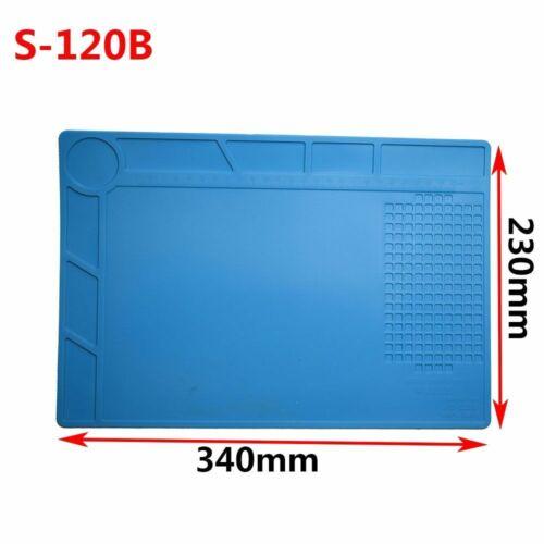 Soldering Mat Solder Station Insulation Pad Platform Silicone Heat Resistant BGA