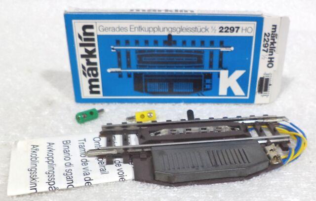 Marklin 2297 K Rail ontkoppelrail 90 mm Nieuw; voordelige prijs !