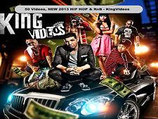HOTTEST NEW RAP HIP HOP & RnB MUSIC VIDEOS! 2 DVD -50 Music Videos - March 2013