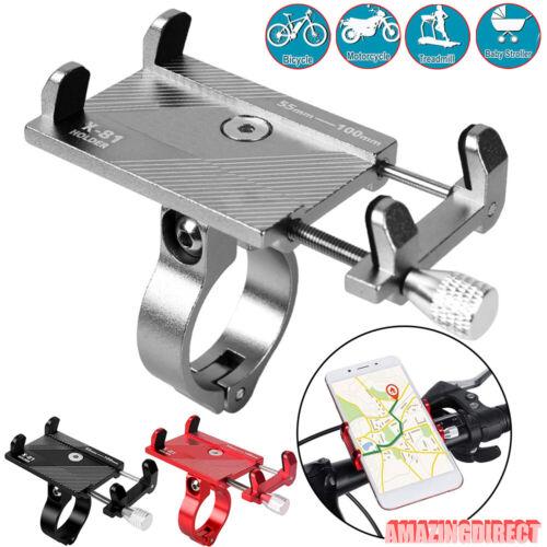 Aluminum Alloy Bicycle Phone Holder GPS Bracket Handlebar Mount for Smart Phone