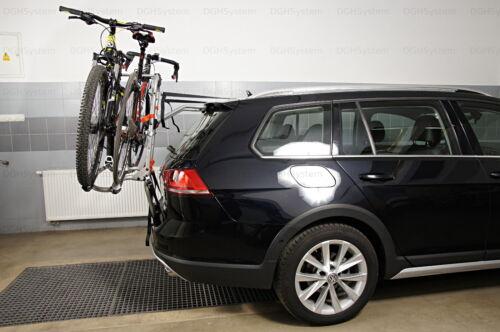 Heckklappenfahrradträger 2 Räder Aguri Advans 2 Für BMW Serie 3 kombi E46 99/>05