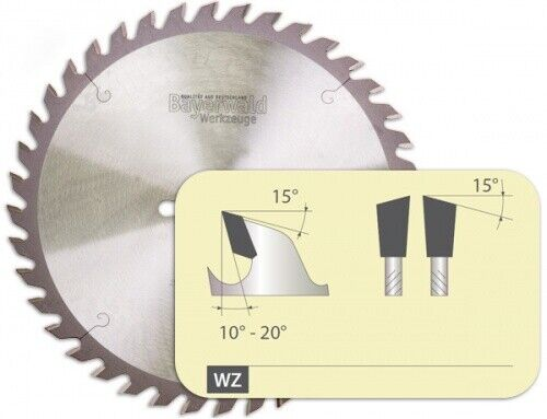 HM Kreissägeblatt - Ø 300 mm x 3,2 mm x 30 mm   Z=48 UW