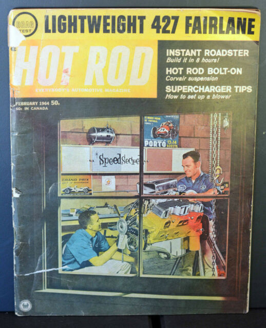 Hot Rod Magazine - January, 1964