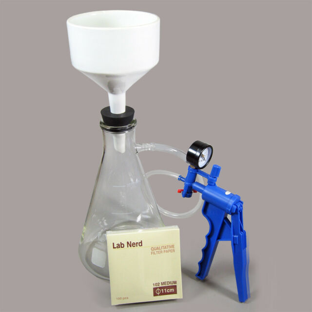 NC-13331 Lab Filtering Kit 2000ml, with Vacuum Pump. Excellent Economy Kit