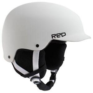 RED-Mutiny-Ski-Snowboard-Helmet-White-Small-55-57-CM-New