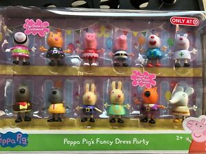 a55f4f4a8f8 Details about PEPPA PIG'S FANCY DRESS PARTY EXCLUSIVE 12 FIGURE PACK  Limited Edition Halloween