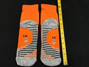 2016-MIAMI-DOLPHINS-TEAM-ISSUED-NIKE-ORANGE-COLOR-RUSH-LOW-ANKLE-SOCKS-SZ-LARGE