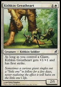 MTG-Magic-C-Lorwyn-Kithkin-Greatheart-SP