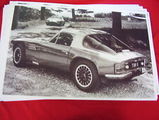 1978 ? 1979? TVR SERIES M COUPE   BIG 11 X 17  PHOTO /  PICTURE